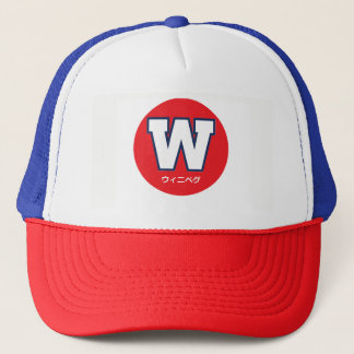 Winnipeg - Japanese Language Sports Cap
