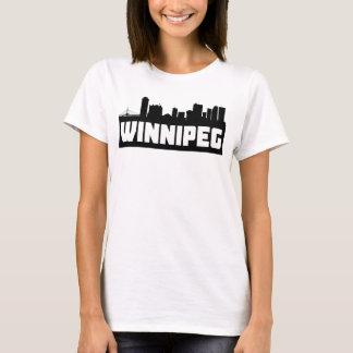 Winnipeg Manitoba Skyline T-Shirt