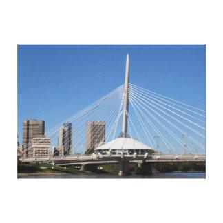 Winnipeg Provencher Bridge Canvas Print