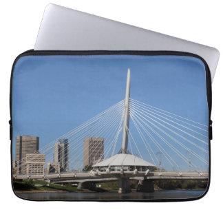 Winnipeg Provencher Bridge Laptop Sleeve