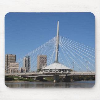 Winnipeg Provencher Bridge Mouse Pad