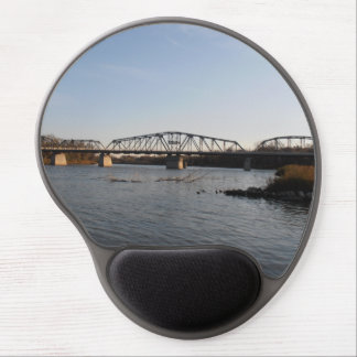 Winnipeg Redwood Bridge Gel Mouse Pad