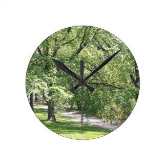 Winnipeg Spring Round Clock