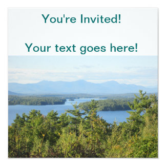 Winnipesaukee Overlook Card