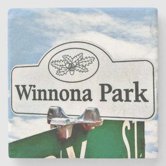 Winnona Park, Decatur, Georgia, Marble Coasters