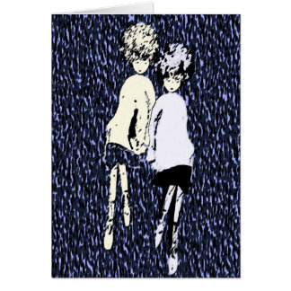 """""""Winnow and Me"""" With Love Greeting Card"""