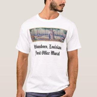 Winnsboro, Louisiana Post Office Mural T-Shirt