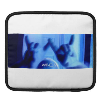 Wino, WI Logo iPad Sleeve