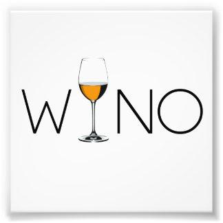 Wino Wine Lover Glass Photograph