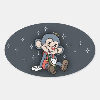 Wino Wombat Stickers