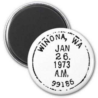Winona Ghostmark 6 Cm Round Magnet