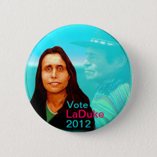 Winona LaDuke 2012 6 Cm Round Badge