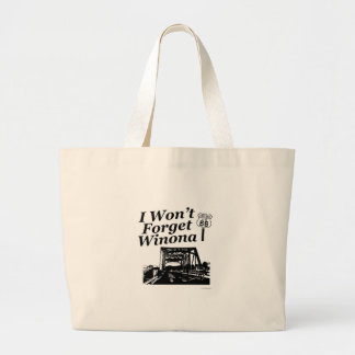 Winona on 66 large tote bag