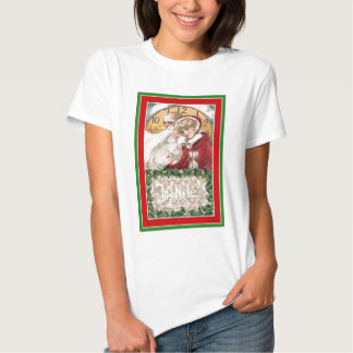 Winsch New Year;s Day Father Time & Young Woman Shirt