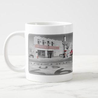 Winslow Arizona Red Splash Photograph Giant Coffee Mug