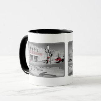 Winslow Arizona Red Splash Photograph Mug