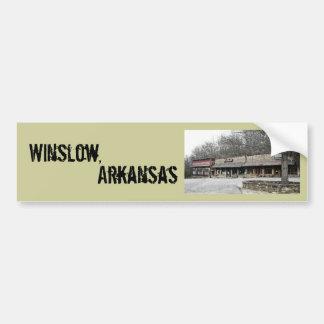 Winslow ,Arkansas Bumper Sticker