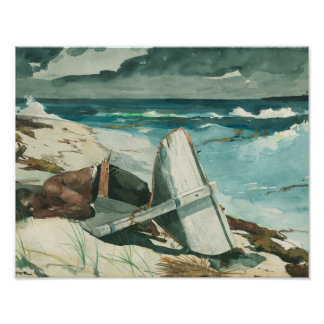 Winslow Homer - After the Hurricane, Bahamas Poster
