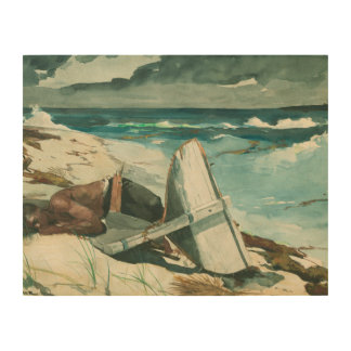 Winslow Homer - After the Hurricane, Bahamas Wood Canvas