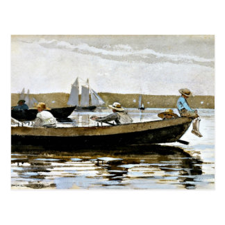 Winslow Homer - Boys in a Dory Postcard
