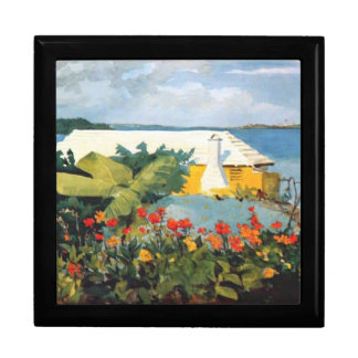 Winslow Homer: Flower Garden and Bungalow painting Gift Box