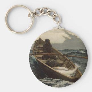 Winslow Homer Fog Warning Key Ring