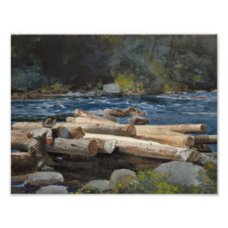 Winslow Homer - Hudson River Photo