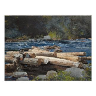 Winslow Homer - Hudson River Photographic Print