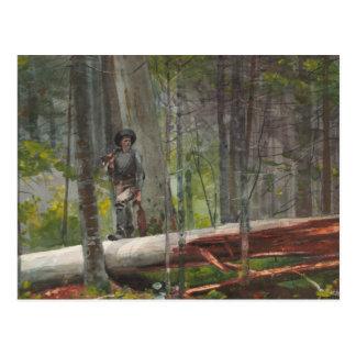 Winslow Homer - Hunter in the Adirondacks Postcard