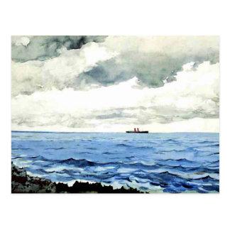 Winslow Homer painting, Bermuda Postcard