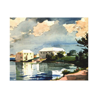 Winslow Homer - Salt Kettle, Bermuda Canvas Print
