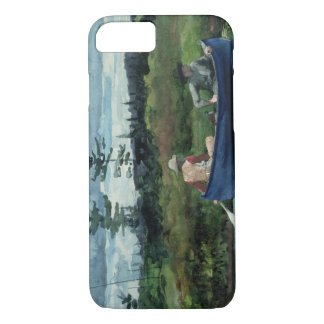 Winslow Homer - The Blue Boat iPhone 7 Case