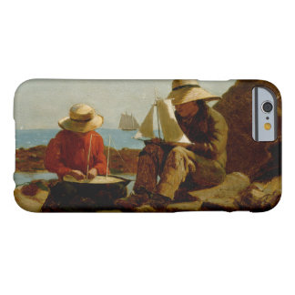 Winslow Homer - The Boat Builders Barely There iPhone 6 Case