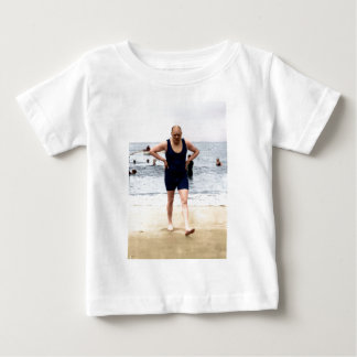Winston Churchill at the seaside Baby T-Shirt