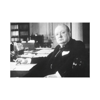 Winston Churchill Canvas