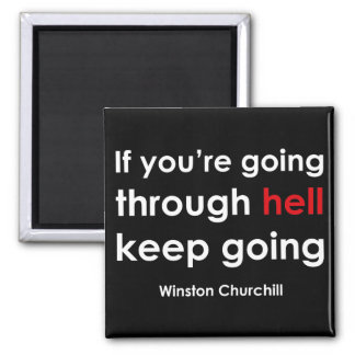 Winston Churchill Magnet