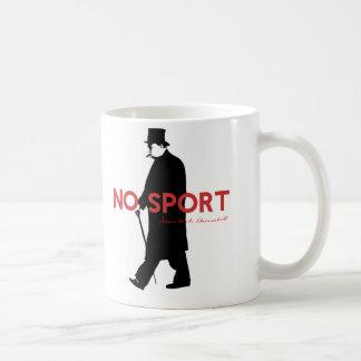 Winston Churchill, No Sport Coffee Mug