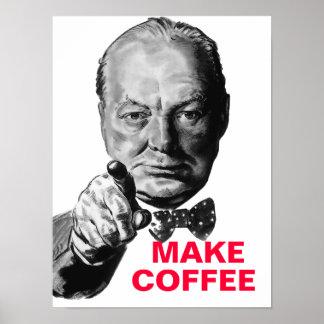 Winston Churchill Personalized Poster