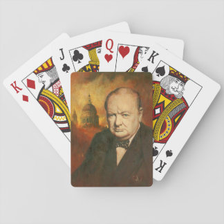 Winston Churchill Playing Cards