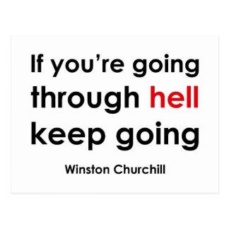 Winston Churchill Post Cards