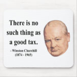 Winston Churchill Quote 14b Mouse Pads