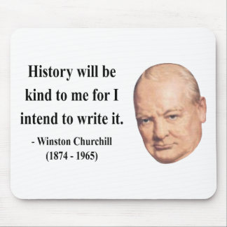 Winston Churchill Quote 7b Mouse Pad