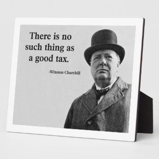 Winston Churchill Quote Plaque