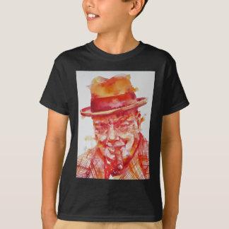 winston churchill - watercolor portrait T-Shirt