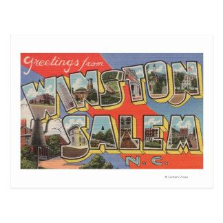 Winston-Salem, North Carolina Postcard