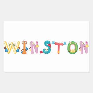 Winston Sticker