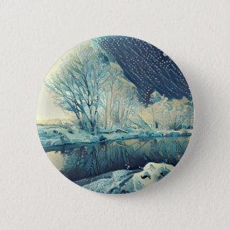 Winter 6 Cm Round Badge