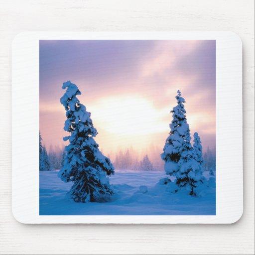 Winter A New Season Awaits Mouse Pad
