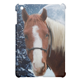 Winter American Paint Horse iPad Mini Covers