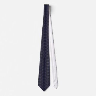 Winter Angel Fractal Art Tie